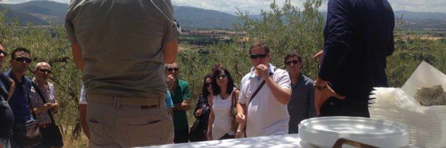 Una delegazione di Operatori lungo la Strada dell'olio extra vergine d'oliva DOP Umbria per imparare a valorizzare un territorio e un prodotto