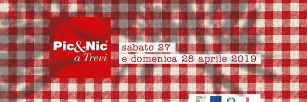 """Al via domani, sabato 27 aprile, la 12^ edizione di """"Pic & Nic a Trevi. Arte, musica e merende tra gli ulivi"""" con tante iniziative in programma"""