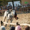 Nico Belloni per gli Spettacoli Equestri alla Fiera di Monteleone di Spoleto.