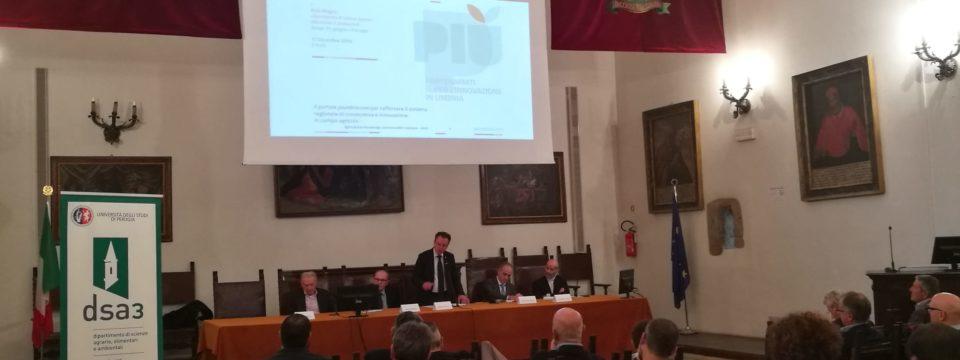 """""""Il portale piumbria.com per rafforzare il sistema regionale di conoscenza e  innovazione in campo agricolo"""""""