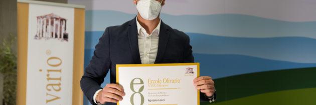 Lorenzo Locci, giovane ambasciatore dell'Umbria, alla XXIV edizione del Premio Nazionale Ercole Olivario