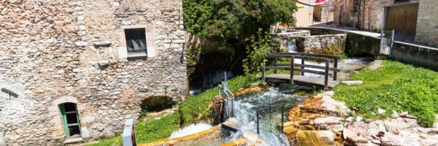 """Domenica 18 luglio, una passeggiata alla scoperta del """"Borgo delle acque"""": Rasiglia di Foligno (Pg)"""