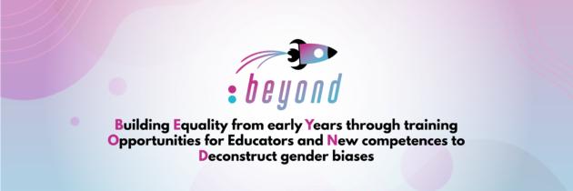 28 settembre a Perugia: BEYOND  progetto internazionale volto a contrastare gli stereotipi di genere fin dalla prima infanzia