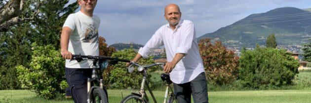 Siglato il protocollo d'intesa tra la Strada dell'Olio e.v.o. Dop Umbria e la FIAB – Federazione Italiana Ambiente e Bicicletta – Perugia Pedala
