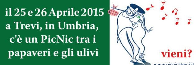 """Si è svolta il 17 aprile 2015 la conferenza stampa di presentazione di """"Pic & Nic a Trevi, arte, musica e merende tra gli olivi"""" – 8° edizione"""